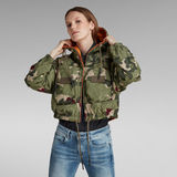 G-Star RAW® Reversible Printed Hooded Jacket Multi color