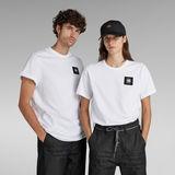 G-Star RAW® Badge Logo T-Shirt White