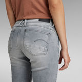 G-Star RAW® Lynn Mid Waist Skinny Jeans Grau