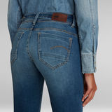 G-Star RAW® Midge Saddle Straight Jeans Mittelblau