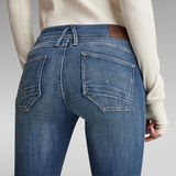 G-Star RAW® Lynn Mid Super SkinnyJeans Mittelblau