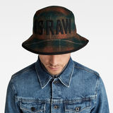 G-Star RAW® Wool Check Bucket Hat Multi color