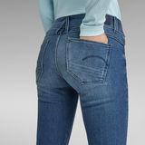 G-Star RAW® Jean Lynn Mid Waist Skinny Bleu moyen