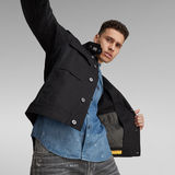 G-Star RAW® Short Biker Overshirt Black