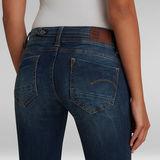 G-Star RAW® Jean Midge Saddle Straight Bleu foncé