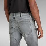 G-Star RAW® 5620 3D Zip Knee Skinny Jeans Grau