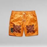 G-Star RAW® Dirik Token Swim Shorts Orange