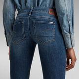 G-Star RAW® 3301 Low Waist Skinny Jeans Dunkelblau