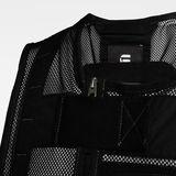 G-Star RAW® E Utility Mesh Vest Black creative shot