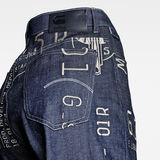 G-Star RAW® E Tedie Ultra High Straight Jeans Dark blue