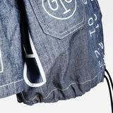 G-Star RAW® E Hawaii Denim Shirt Dark blue