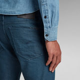 G-Star RAW® 3301 Straight Tapered Jeans Donkerblauw