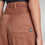 G-Star RAW® Eve 3D Mid Wide Leg Pants Brown