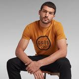 G-Star RAW® GS89 Graphic T-Shirt Yellow