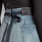 G-Star RAW® A-Line Maxi Wrap Skirt Medium blue