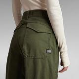 G-Star RAW® 3D Ultra High Fatigue Pants Green