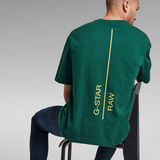 G-Star RAW® Text Graphic Loose T-Shirt Grün
