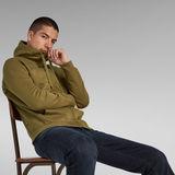 G-Star RAW® Premium Core Hooded Zip Sweater Green