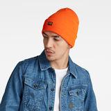 G-Star RAW® Effo Long Beanie Orange model