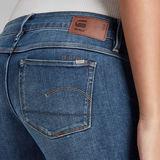 G-Star RAW® 3301 Low Skinny Jeans Mittelblau