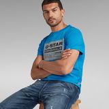 G-Star RAW® Originals Logo T-Shirt Medium blue