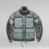 G-Star RAW® Field Puffer Jacket PM Green