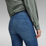 G-Star RAW® Kafey Ultra High Skinny Jeans Mittelblau