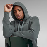 G-Star RAW® Premium Core Hooded Sweater Grey