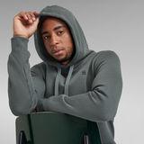 G-Star RAW® Premium Core Hooded Sweatshirt Grau