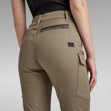 G-Star RAW® High G-Shape Cargo Skinny Pants Green
