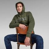 G-Star RAW® G-Star Hooded Sweater Green