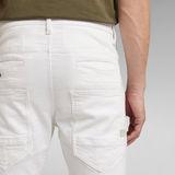 G-Star RAW® D-Staq 3D Slim Jeans Weiß
