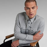 G-Star RAW® Marine Slim Hemd Grau