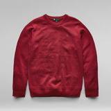 G-Star RAW® Premium Basic Knitted Pullover Rot