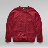 G-Star RAW® Premium Basic Knitted Sweater 赤