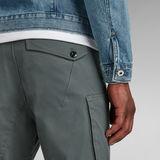 G-Star RAW® Zip Pocket 3D Skinny Cargo Pants Grey
