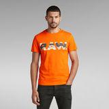 G-Star RAW® Graphic 6 T-Shirt Orange