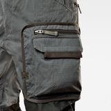 G-Star RAW® Pantalon cargo E Combat Gris creative shot