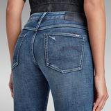 G-Star RAW® 3301 Mid Skinny Ankle Jeans Medium blue