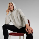 G-Star RAW® Sweat à capuche 89 Logo Knitted Multi couleur