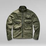 G-Star RAW® Overshirt Bound Pocket Track Bomber Green