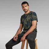 G-Star RAW® Camo Round Neck T-Shirt Mehrfarbig