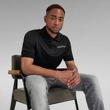 G-Star RAW® Embro Logo Polo Black