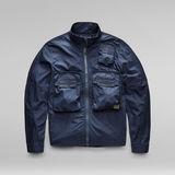 G-Star RAW® Overshirt Bound Pocket Track Bomber Dark blue