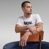 G-Star RAW® RAW. Graphic T-Shirt White