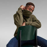 G-Star RAW® Mask Hoodie Green