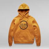 G-Star RAW® GS89 Graphic Hoodie Yellow