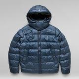 G-Star RAW® G - Whistler Padded Hooded Jacket Dark blue