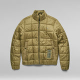G-Star RAW® Meefic Square Quilted Jacket Green