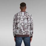 G-Star RAW® Line Art SplatterSweater Multi color
